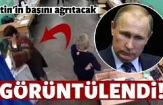 Putin'in başını fena ağrıtacak görüntü!