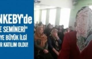 Rinkeby'de, aile semineri izdihamı... FOTO