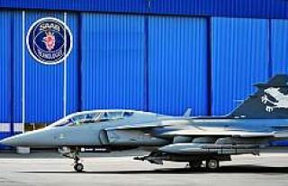 Saab firmasının yeni nesil savaş uçağı bugün...