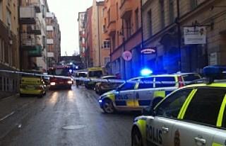Sabah Stockholm'de bir taksici soyuldu