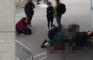 Sergel Torg Meydanı'nda bir kişi bıçaklandı