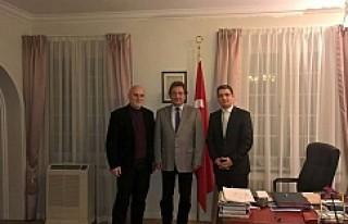 Simit Sarayı'nın Sahibi Hamurcu'dan, Büyükelçi...