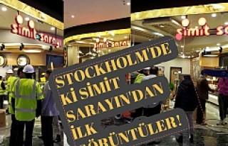 Simit Sarayı Stockholm'de Yarın Akşam açılıyor...