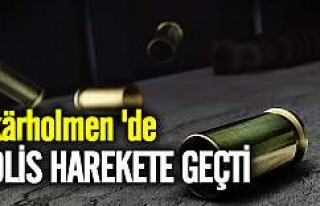 Skärholmen'de silah sesleri polisi harekete...