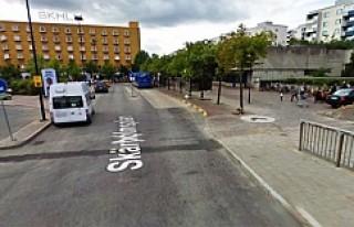 Skärholmen'de silahlı üç kişi gözaltına...