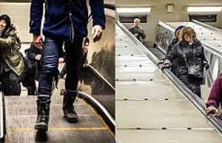 SL-Metro merdivenleri üç hafta sonra yeniden yürümeye...