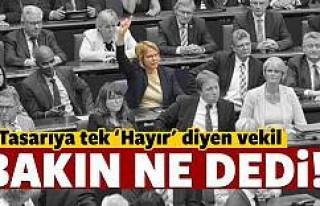 Sözde Ermeni Sokırım Tasarısına Tek, ''Hayır''...