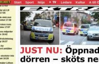 Stockholm'de bir kişi evinde silahlı saldırıya...