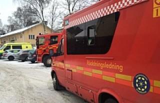 Stockholm'de bir okul bomba ihbarı nedeniyle...
