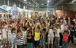 Stockholm'de çocuklara Ramazan eğlencesi