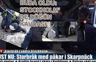 Stockholm'de Düğünde Çıkan Kavgada 30 Kişi...