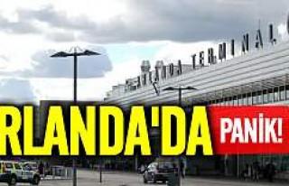 Stockholm'de Havalimanı'nda panik: Uçuşlar...