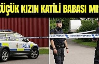 Stockholm'de öldürülen küçük kızın katili...