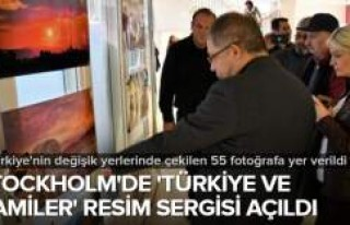 Stockholm'de 'Türkiye ve Camiler'...