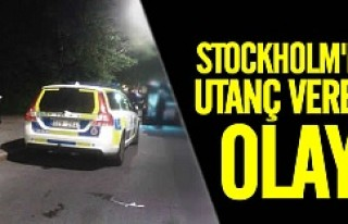 Stockholm'de utanç veren olay!