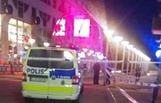 Stockholm'ün en merkezi noktasında bir kişi...