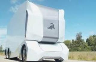Sürücüsüz elektrikli kamyon T-pod bu yıl İsveç...