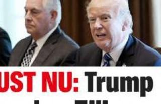 'Trump Tillerson'ı görevden aldı'