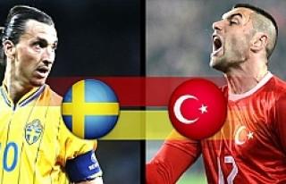 Türkiye-İsveç hazırlık maçının biletleri tüken