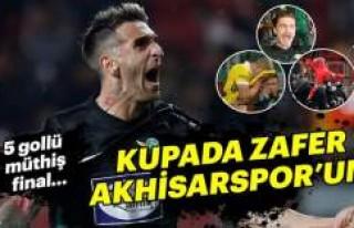 Türkiye Kupası'nı Fenerbahçe'yi yenen...