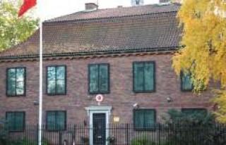 Türkiye'nin Stockholm Büyükelçiliği'nde...