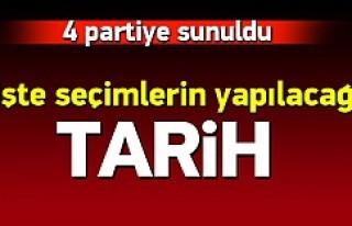 Türkiye seçime gidiyor YSK'nın seçim takvimi...