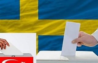 Türkiye'de ki seçimler için oy vermek isteyen,...