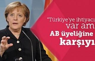 'Türkiye'nin AB üyeliğine hala karşıyız'