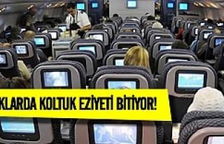 Uçaklar'da orta koltuk eziyeti bitiyor!