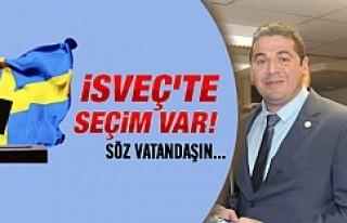 UETD İsveç Başkanı Eker, vatandaşı sandığa...