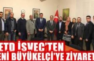UETD İsveç'ten yeni Büyükelçiye hoşgeldin...