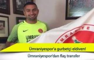 Ümraniyespor'a İsveç'ten Türk Kaleci