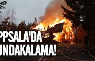 Uppsala'da kundaklama!