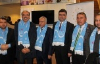 Uygur Türkleri İsveç'te Çin zulmünü anlattı