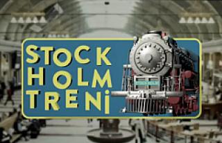 """Ve """"Stockholm Treni""""nin ilk görüntülü..."""