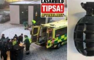 Vårby Gård'da el bombasını bırakanlar bulundu