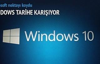 Windows tarih olacak!