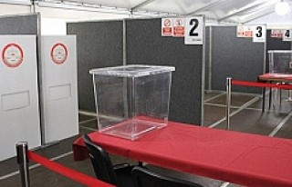 Yurtdışında oy verme işlemi yarın başlıyor