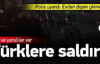 Yurtdışında Türk işyerine saldırı 2 ölü 2...