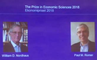 2018 Nobel Ekonomi Ödülü'nün sahipleri belli oldu