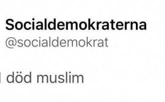 """İsveç'te ırkçılardan """"Müslümanları öldürün"""" mesajı"""