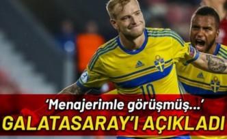 Galatasaray İsveçli golcü Guidetti ile temasta
