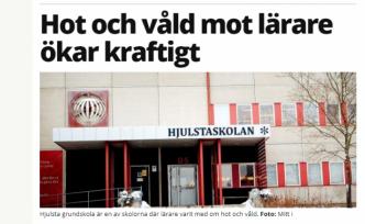 Stockholm'de öğretmenlere şiddet iki misli arttı