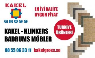 Türkiye'nin marka İnşaat ve Banyo malzemeleri İsveç'te