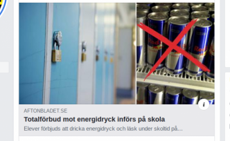 İsveç'in o okulunda öğrencilerin enerji içeceği içmesi yasaklandı