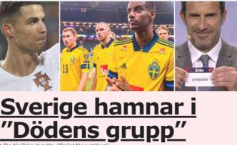 İsveç Milli Takımı ölüm grubuna düştü
