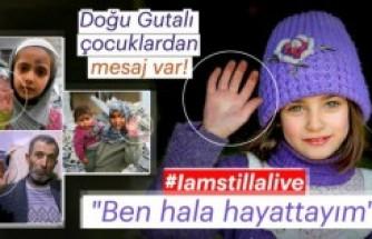 Doğu Gutalı çocuklardan 'Ben hala hayattayım' mesajı
