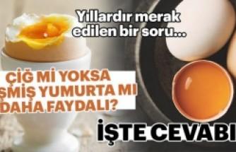 Çiğ mi yoksa pişmiş yumurta mı daha faydalı?
