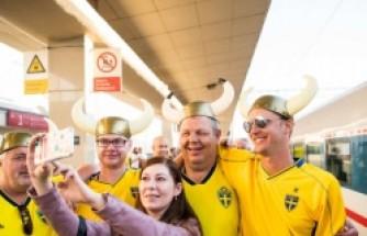 İsveç- Güney Kore maçından renkli anlar
