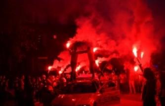 Stockholm'de Galatasaray coşkusu